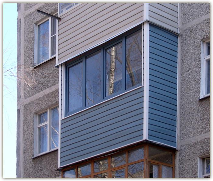 Отделка балкона: виды, материалы, технология монтажа