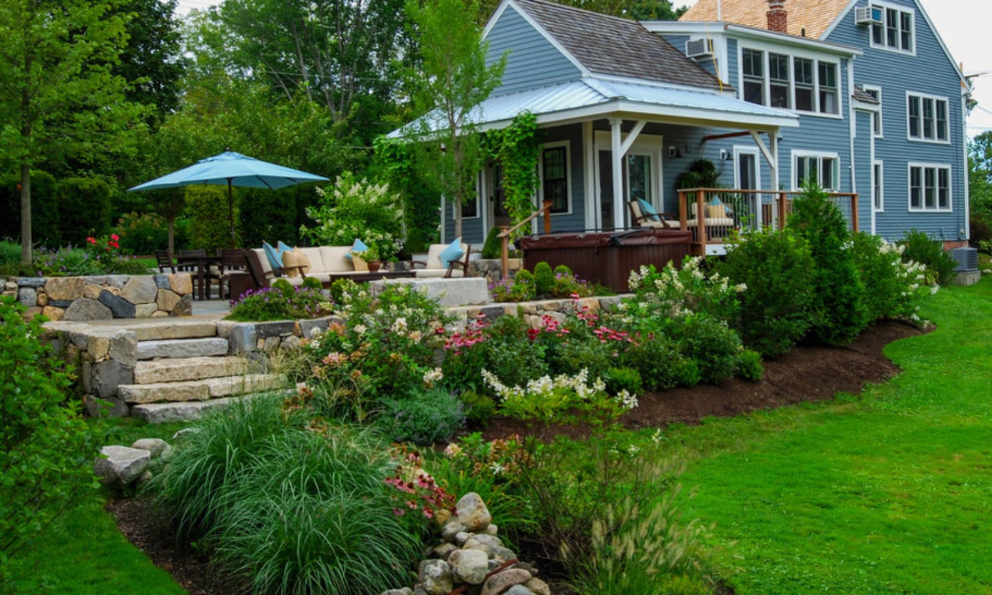 Оформление палисадника перед домом – гармония функциональности и стиля
