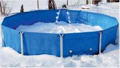 как сложить каркасный бассейн