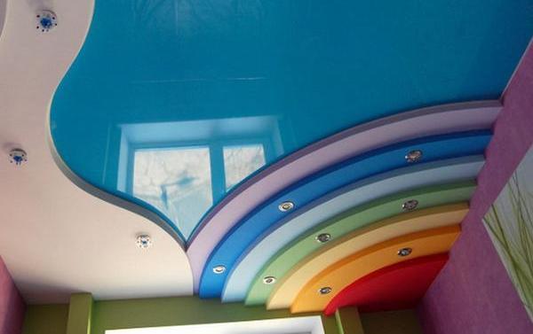 цвета натяжных потолков каталог фото