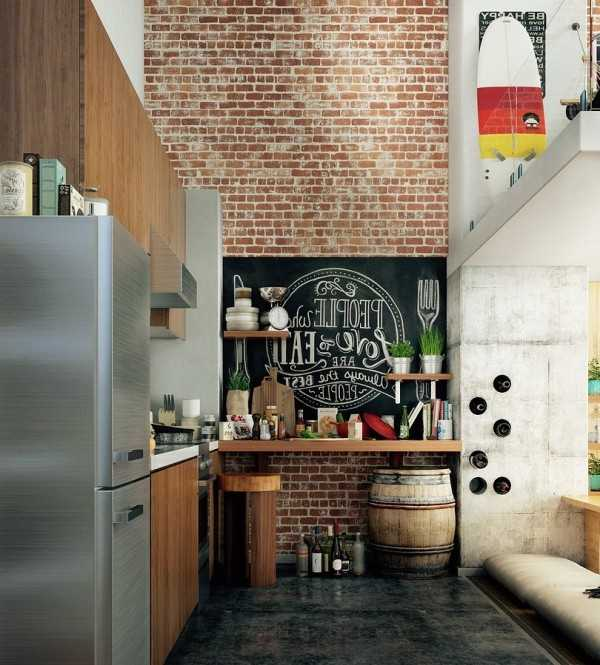 Стиль лофт в интерьере: брутальный и стильный дизайн, дарящий максимум комфорта (фото)