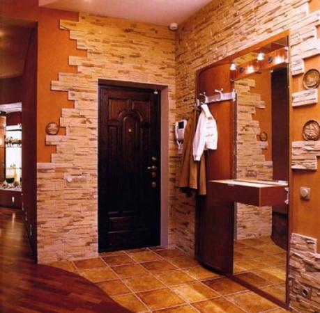 Декоративный камень на кухне: стильные идеи украшения интерьера