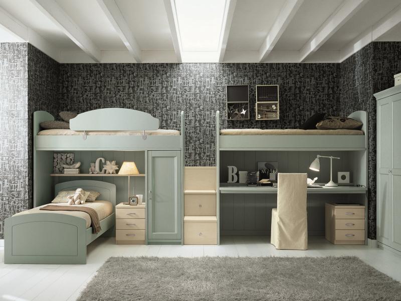 Кровать для троих детей: 6 правил выбора мебели
