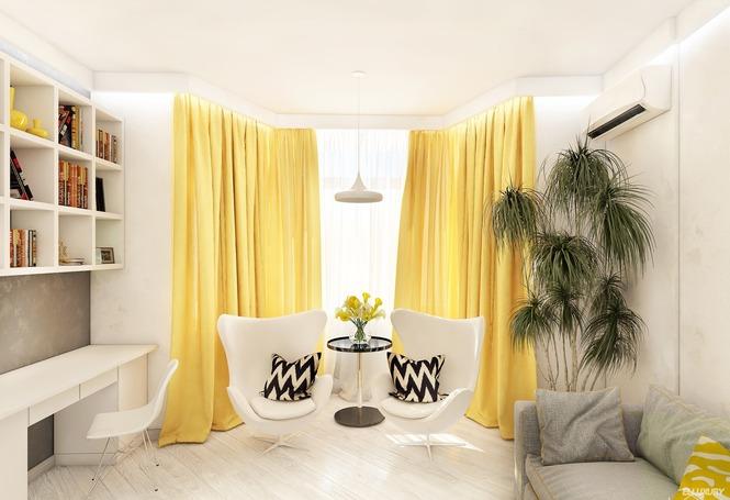 Выбор красивого дизайна штор в гостиную