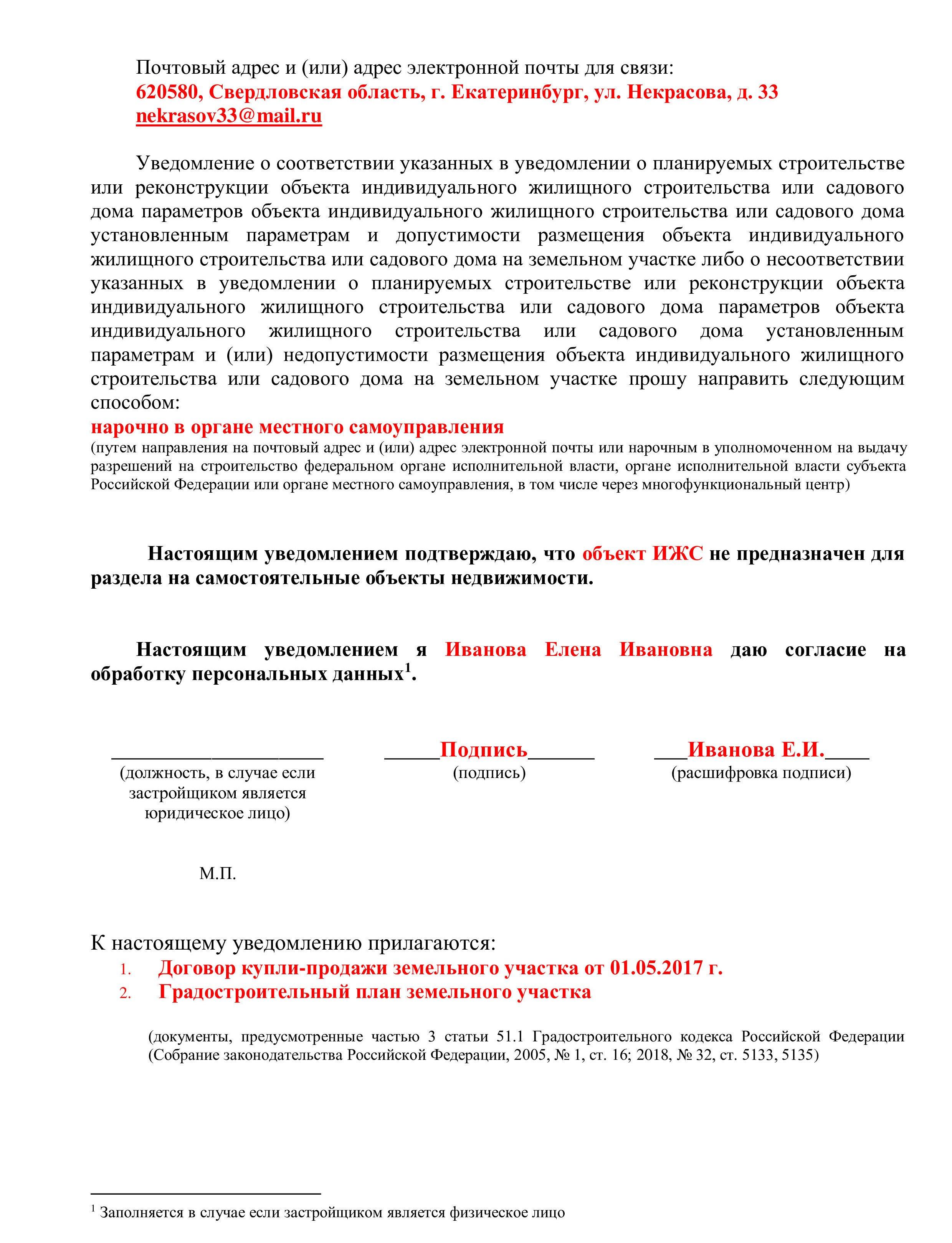 градкодекс разрешение на строительство