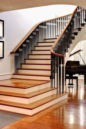 Лестница на металлокаркасе с деревянными ступенями (41 фото): отделка деревом металлической конструкции, способы обшивки марша на каркасе из металла, варианты облицовки и крепления ступенек