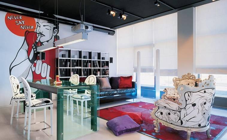 дизайнерские комнаты
