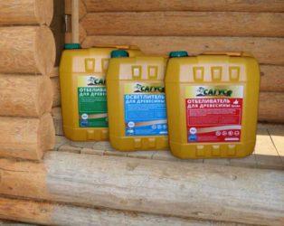 средство для отбеливания древесины
