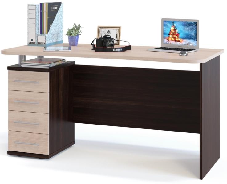 Угловой компьютерный стол - фото функционального рабочего места