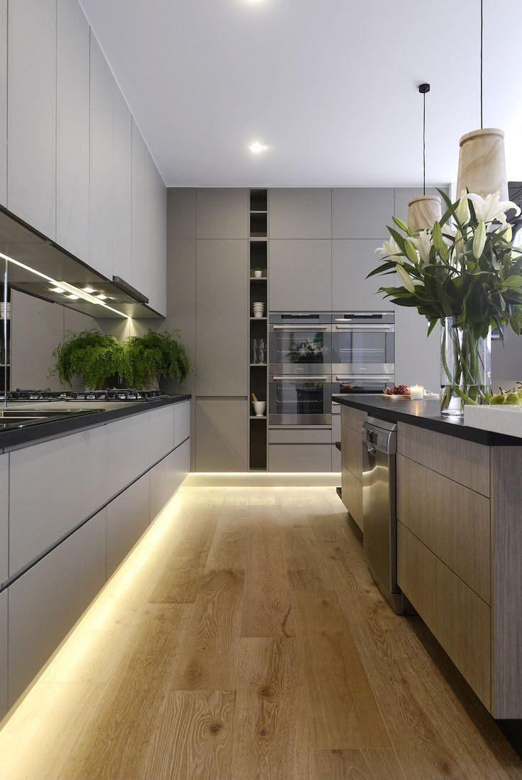 Кухня в стиле модерн: динамичность жизнеутверждающего интерьера