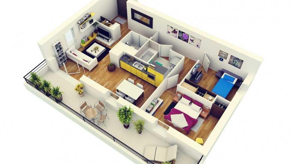 план 1 этажа жилого дома чертеж