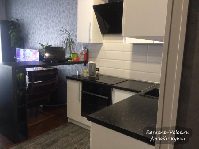 Новые идеи для кухни в студии - планировки + фото