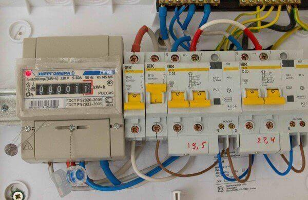 монтаж электрощита в частном доме