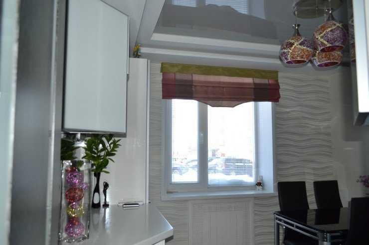 модели штор на кухню дизайн фото