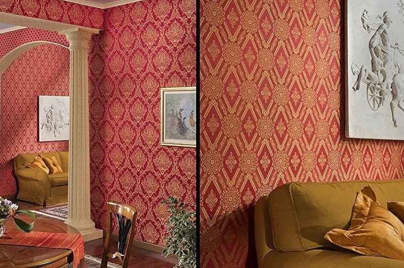 комнатные обои каталог фото