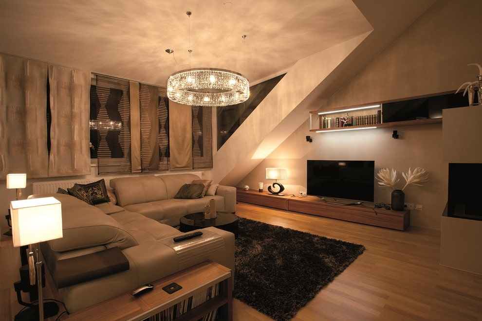люстры потолочные для зала