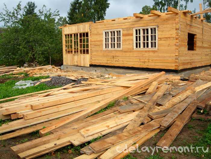 Какие бывают виды бруса для строительства дома
