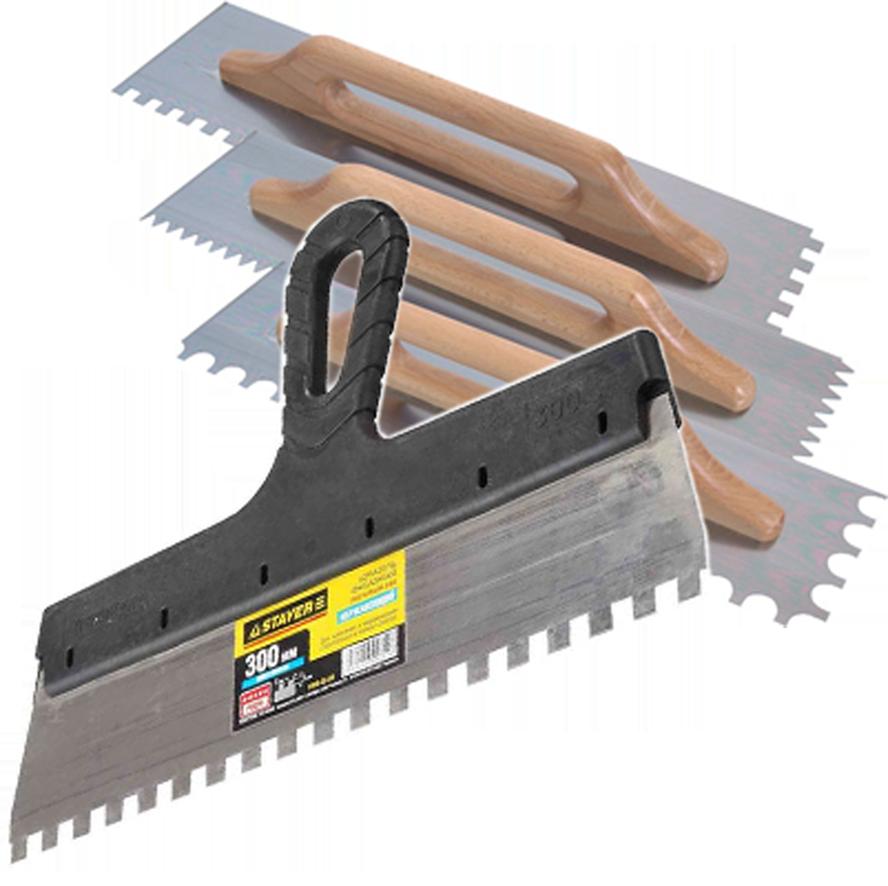 шпатель для плитки на стену