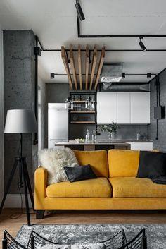 Современный стиль лофт в интерьере квартиры: идеи дизайна и оформления квартиры в стиле лофт