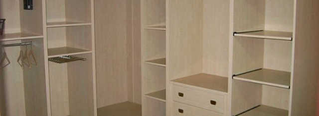 глубина полок в гардеробной