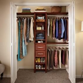 Дизайн спальни с гардеробной комнатой- варианты воплощения