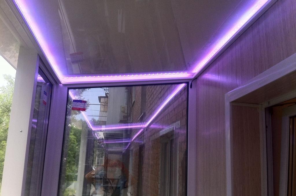 Парящий потолок - особенности подсветки, эффект, фото, монтаж
