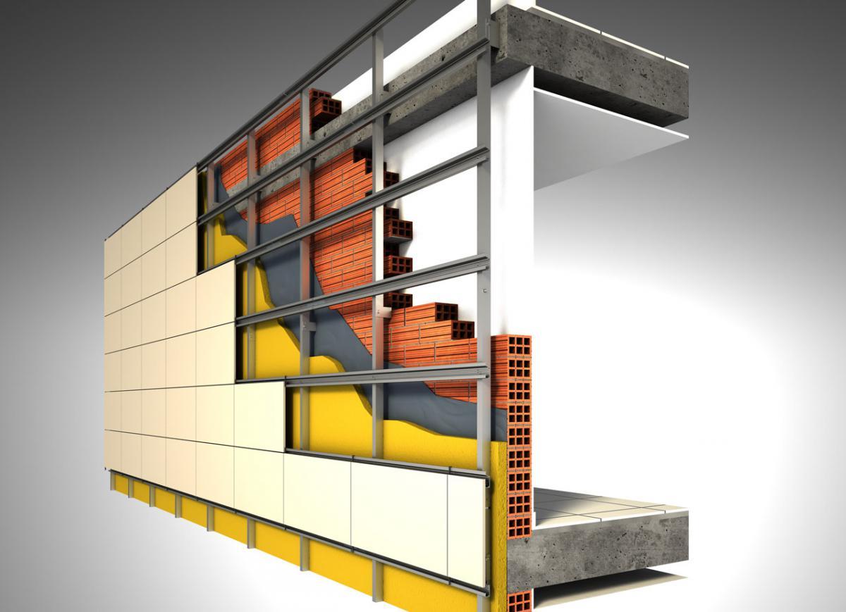Статья о монтаже вентилируемых фасадов