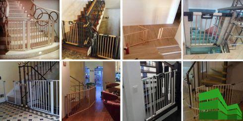 защита от детей на лестницу