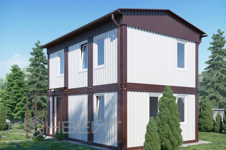 контейнеры для жилья с удобствами