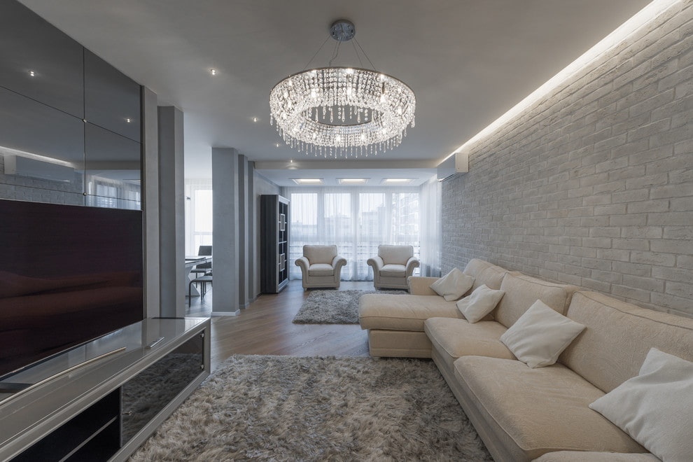 Лучшие варианты люстры в зал - современный дизайн и советы как выбрать люстру в зал (75 фото лучших идей)