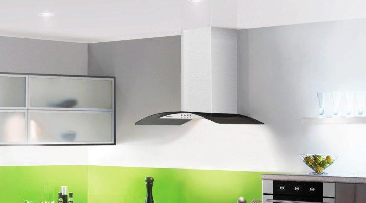 Чёрная вытяжка (30 фото): воздуховод из черного ореха и стекла в интерьере белой кухни