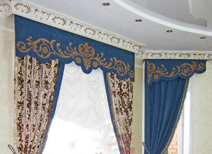 Дизайн шторы ламбрекена на кухню (145+ фото) - modernplace.ru