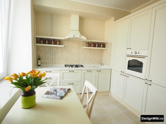 Нежность сиреневой кухни: особенности сочетаний
