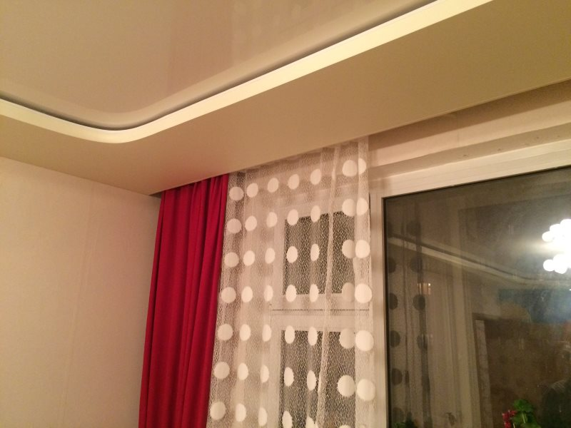 Гардины для штор — 115 фото в интерьере
