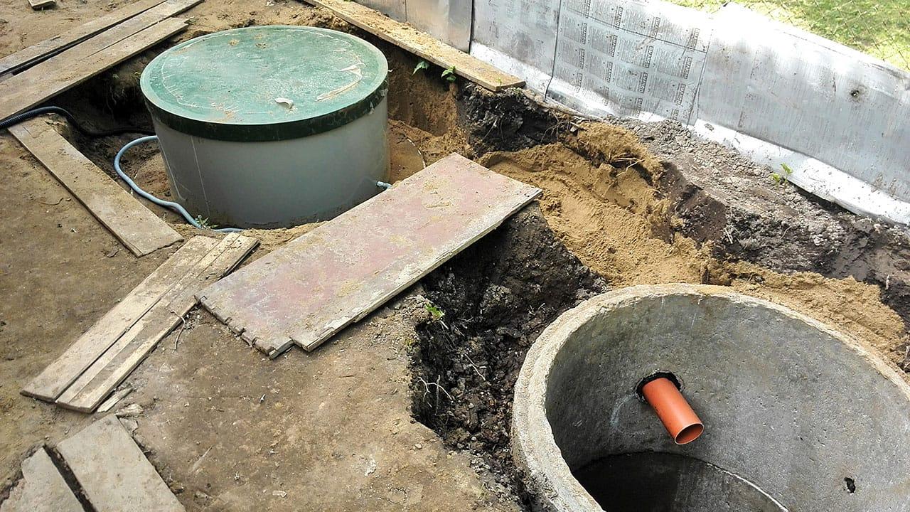 канализация септик