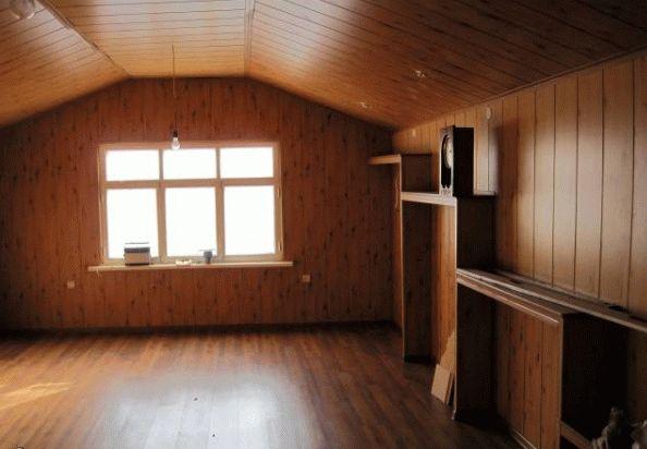 чем обшить дом внутри дешево