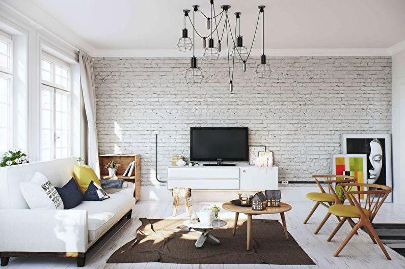 Кирпичная стена в интерьере — 100+ лучших фото. выбор дизайнера!