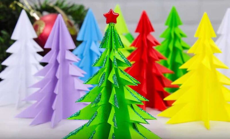 Как сделать елку из бумаги :: инфониак