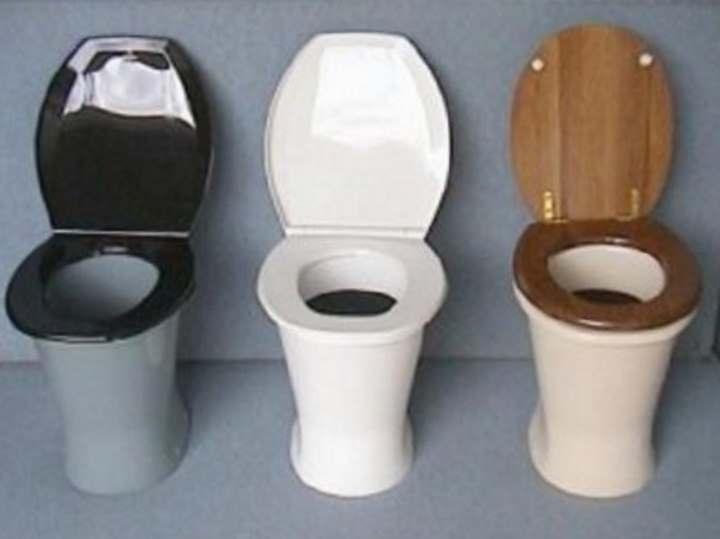 туалет пластиковый уличный