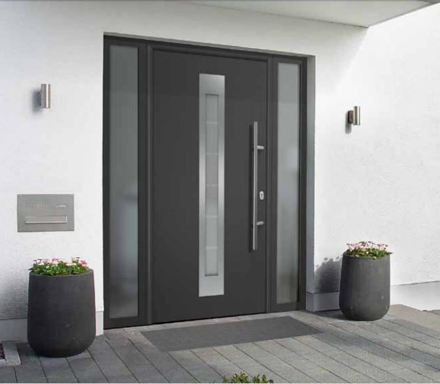 Входные двери с терморазрывом херман (hormann).