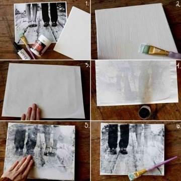 Как перенести изображение с бумаги на дерево
