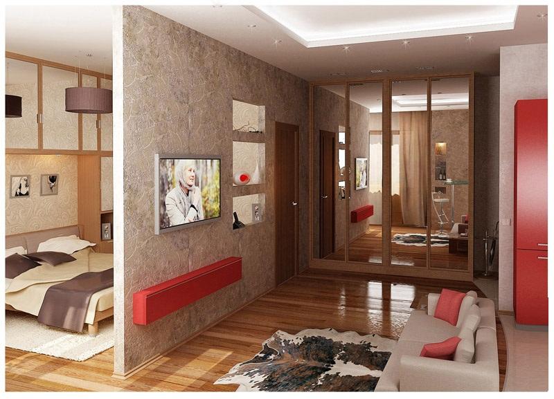 хрущевка 1 комнатная