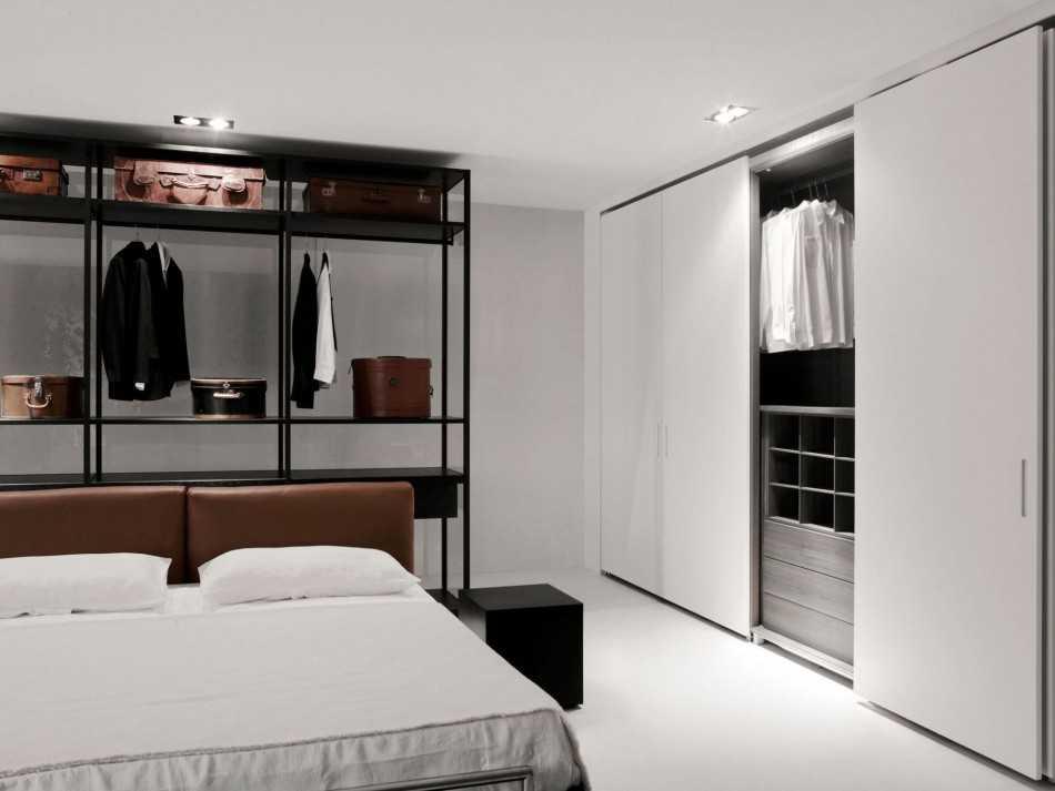 встроенный шкаф купе в спальню фото