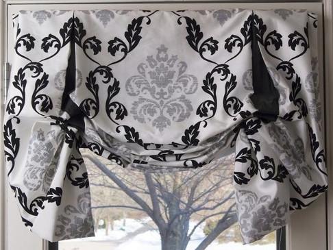 шторы в английском стиле для спальни