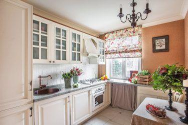 кухня прованс белая