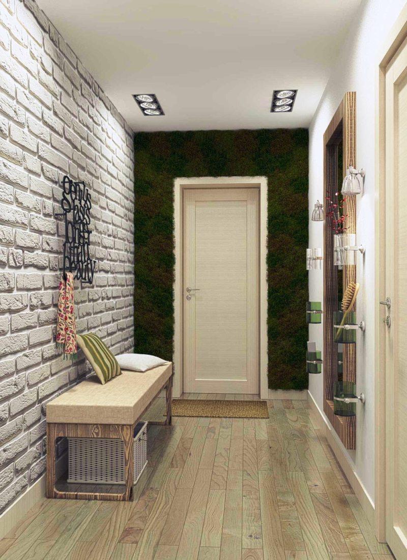 Чем отделать стены в коридоре: большой выбор отделки, кроме обоев, с фото оформлением