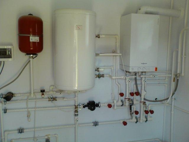 схема разводки отопления в частном доме
