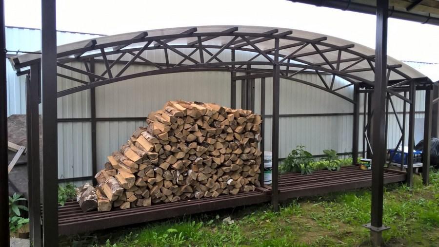 Как сложить дрова в дровницу: поколоть и порубить да картинно уложить - строй-хауз