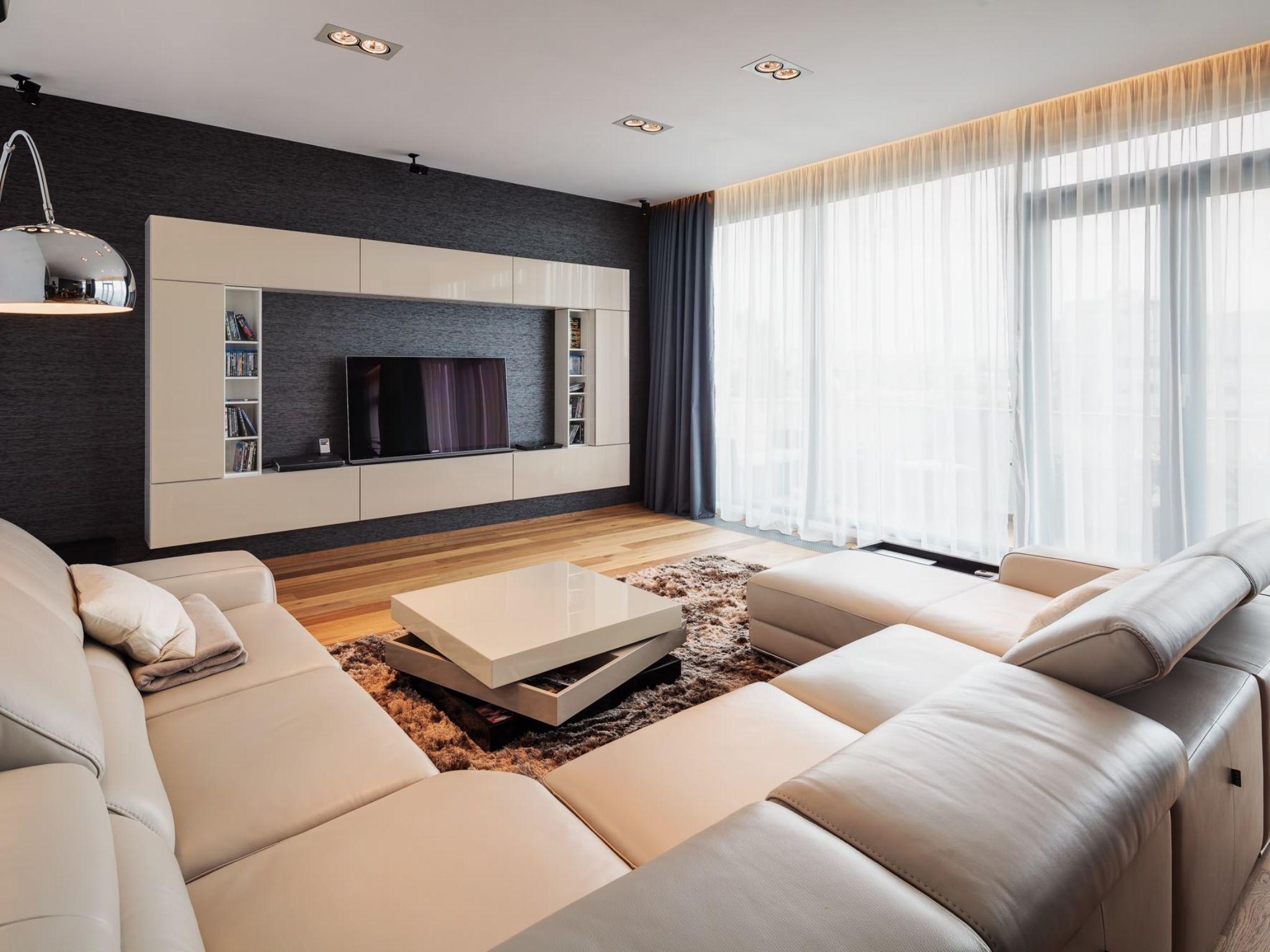 Мебель в зал, какие бывают варианты и сочетания, современные идеи