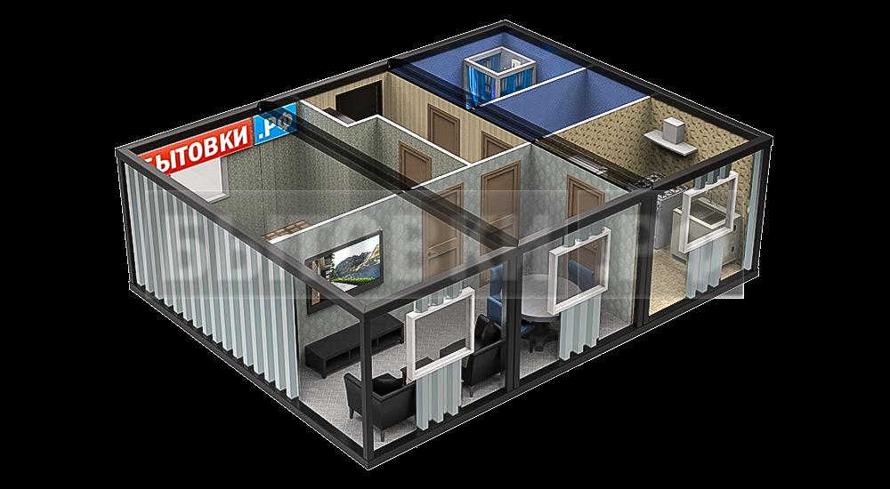 модульные контейнеры для жилья